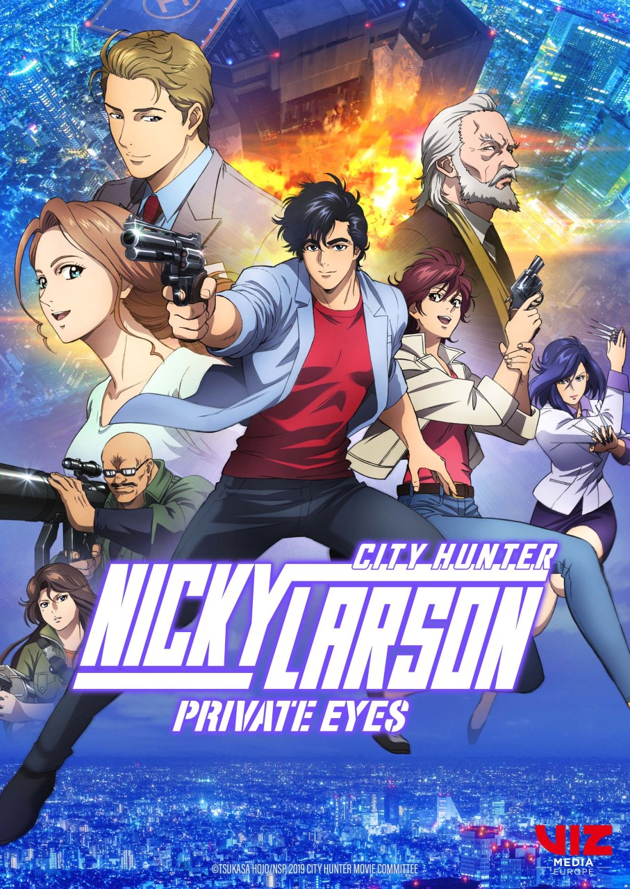 City hunter private eyes