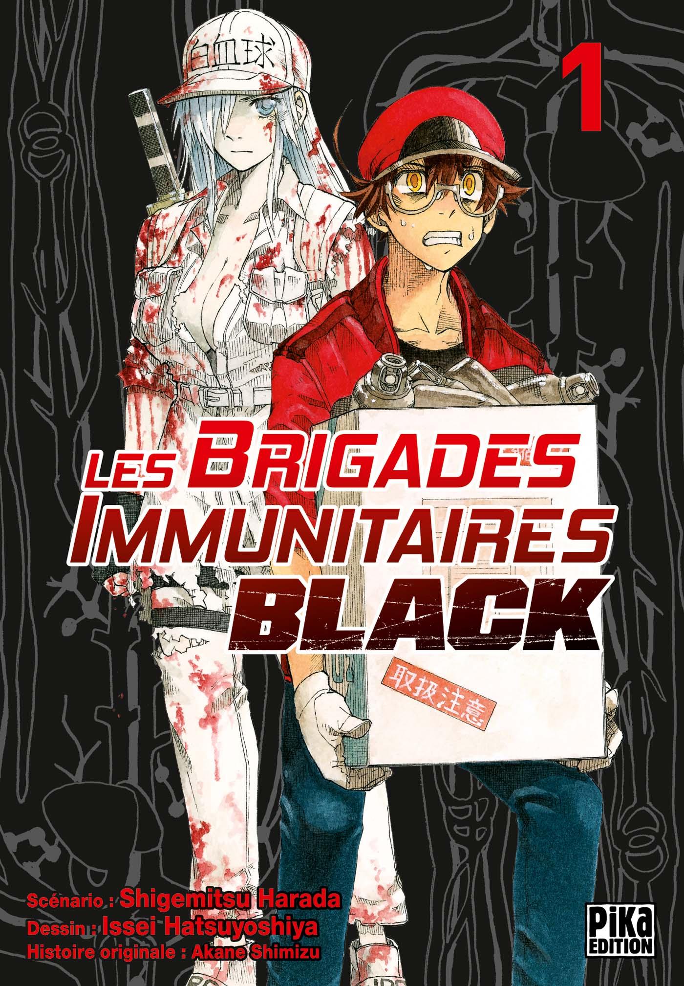 Les Brigades Immunitaires Black Couv