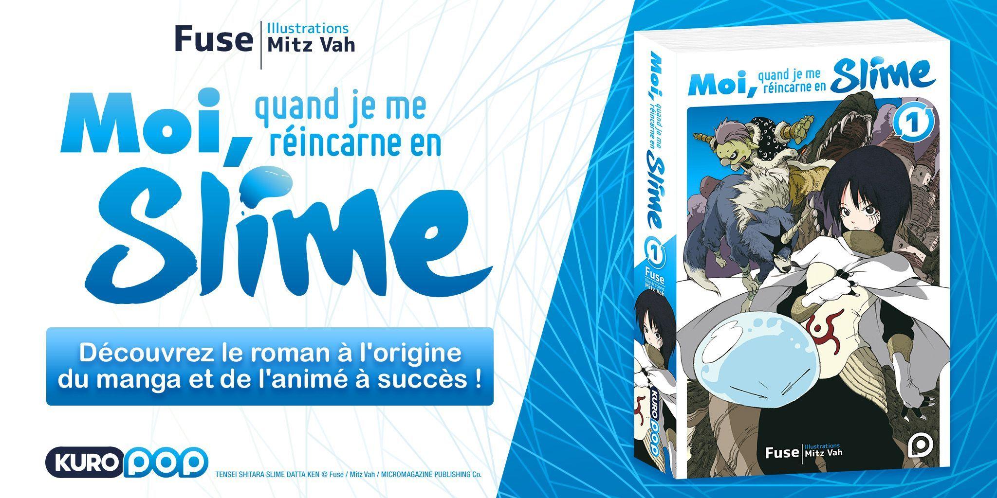 Slime light novel annonce
