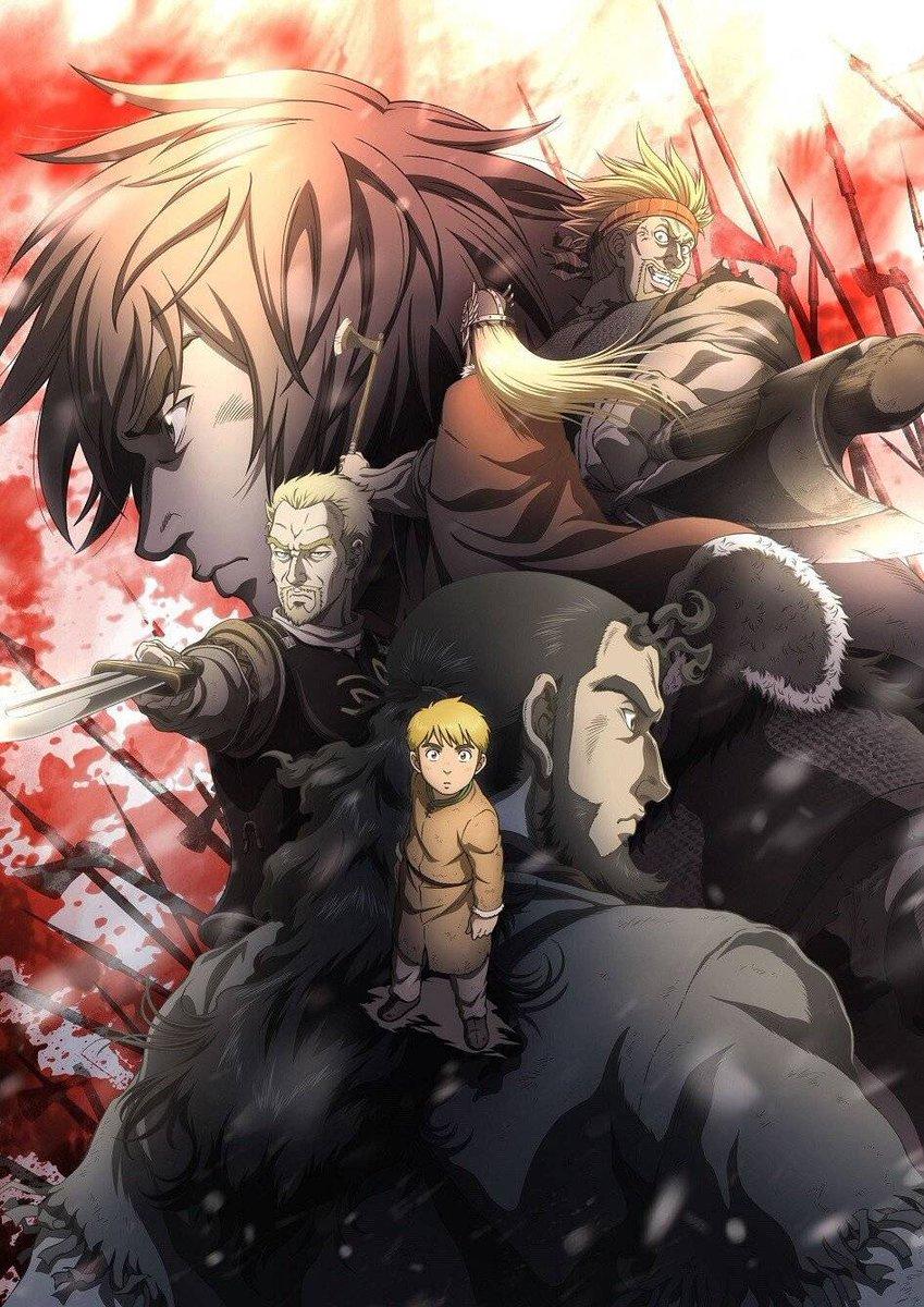 Vinland Saga Anime Affiche