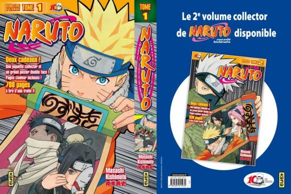 Maquette Naruto Collector tome 1