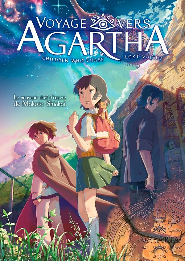 Voyage vers Agartha affiche