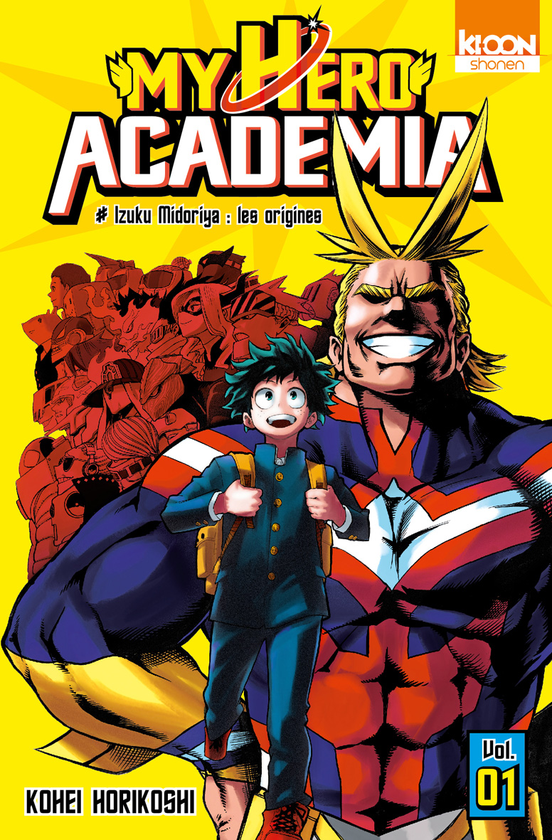 My Hero Academia - Tome 1 a 7