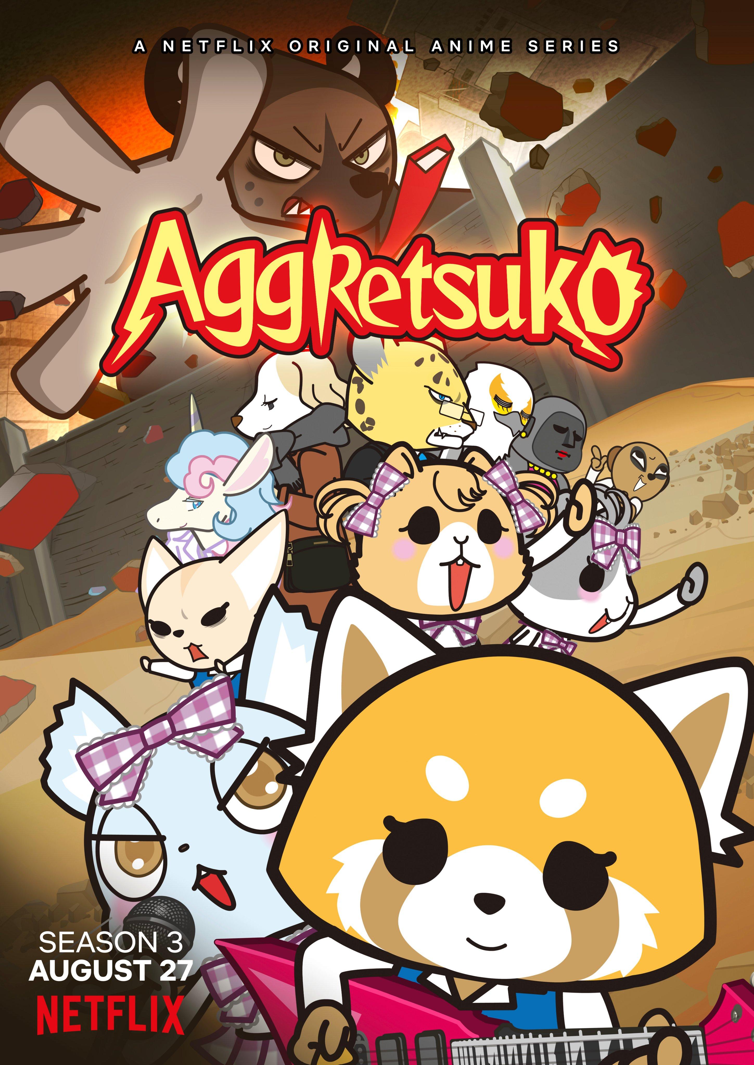 Aggretsuko S3 Affiche