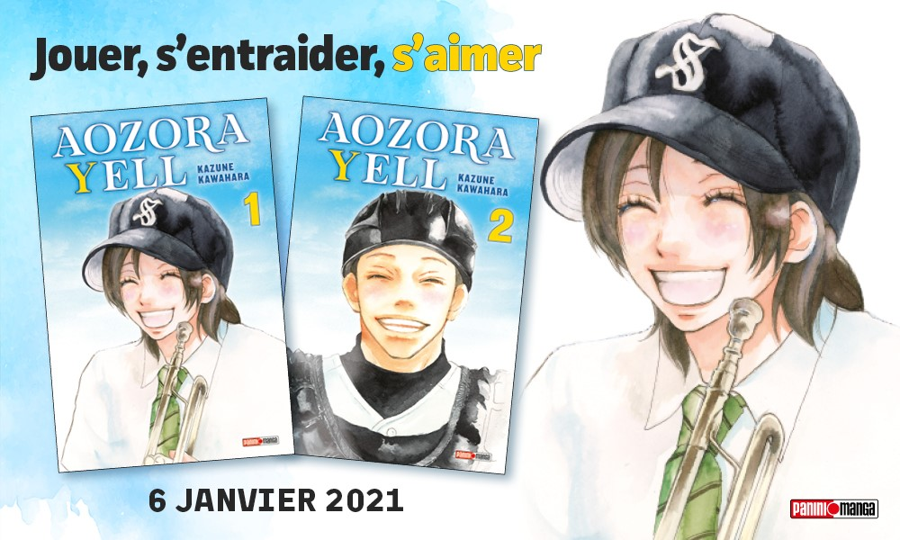Aozora Yell Réédition Annonce