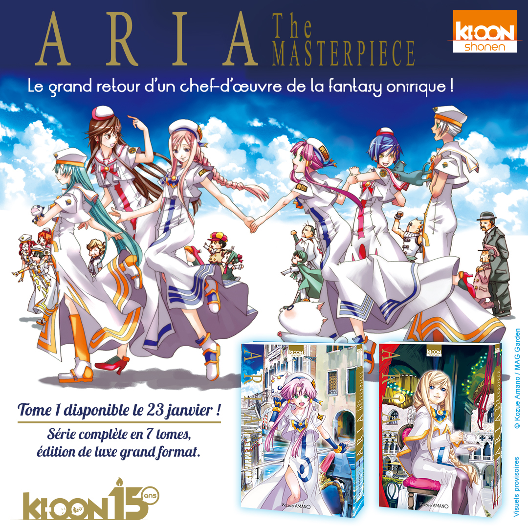 Aria The Masterpiece Annonce