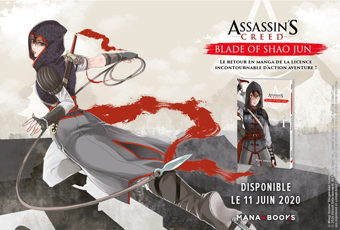 Assassin's Creed Blade of Shao Jun Annonce