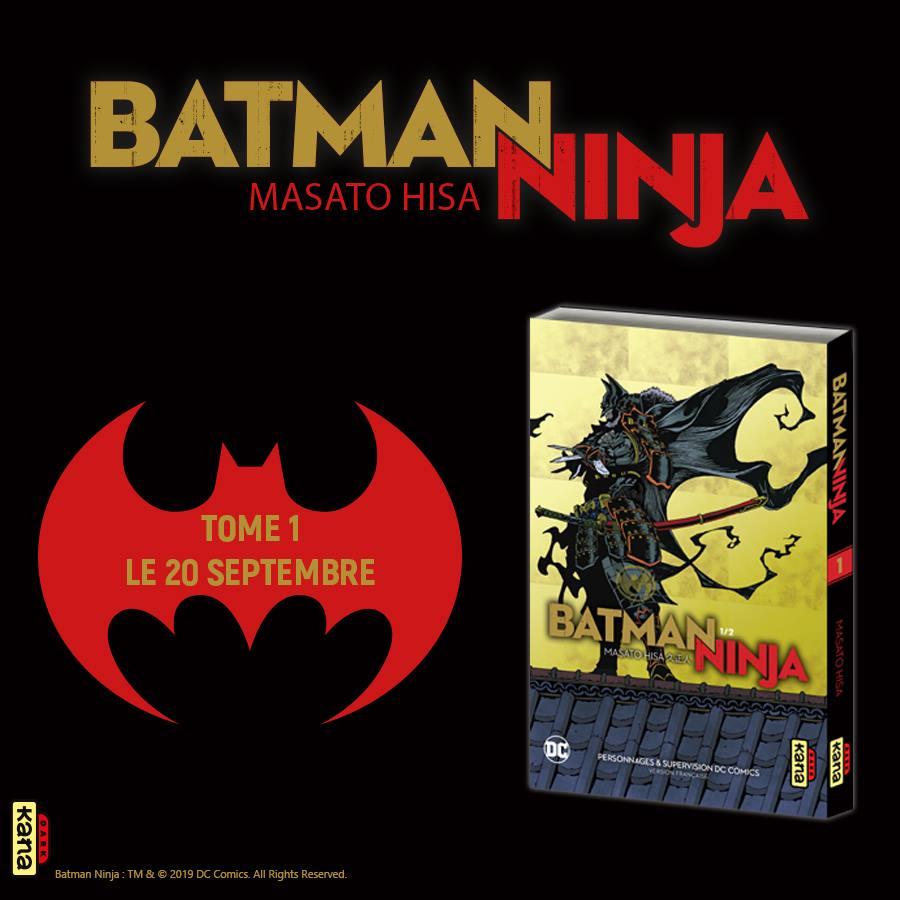 Batman Ninja Annonce