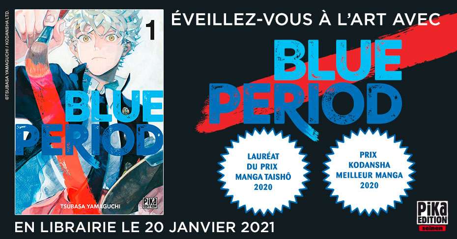 Blue Period Annonce