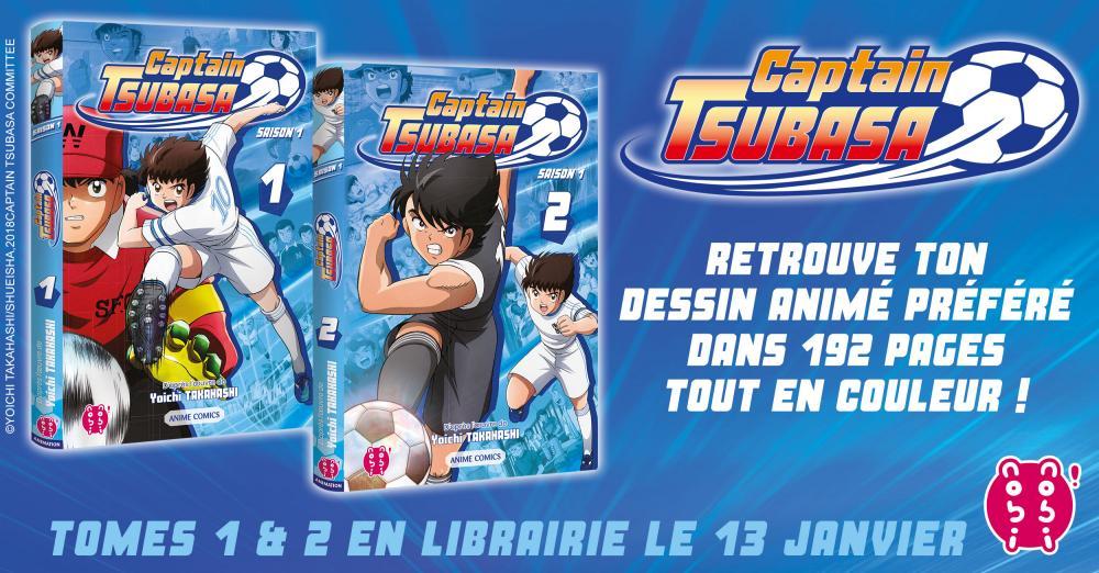 Captain Tsubasa Animé Comics Annonce