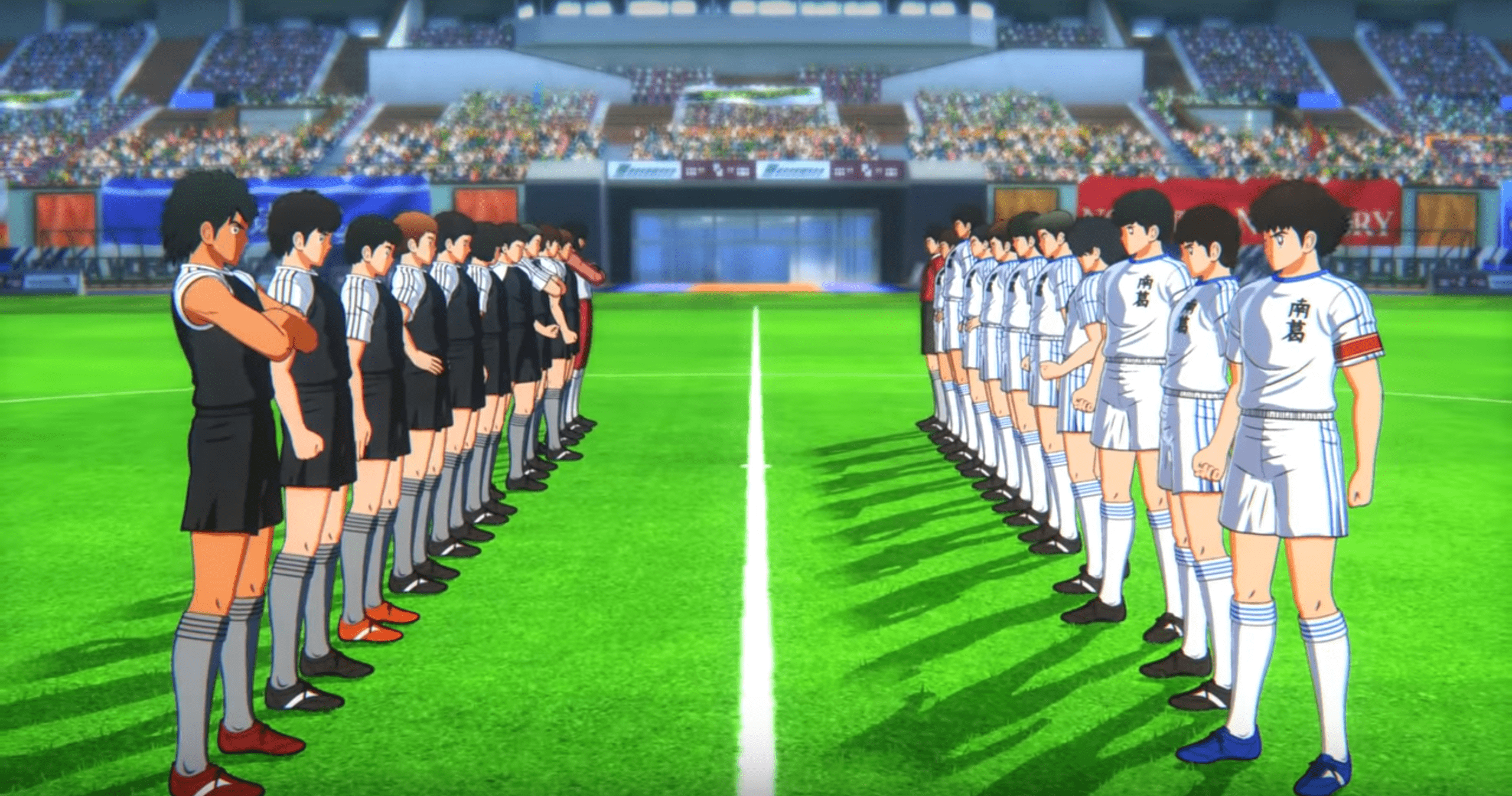 Captain Tsubasa Rise of New Champion Screen