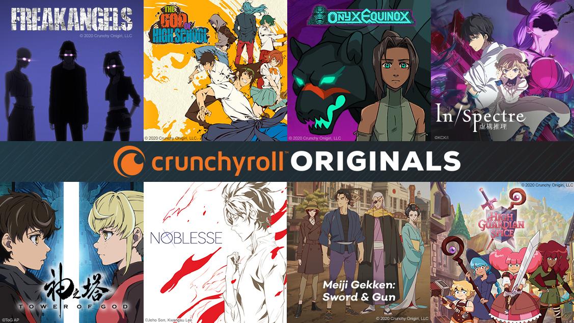 Crunchyroll Originals Annonce
