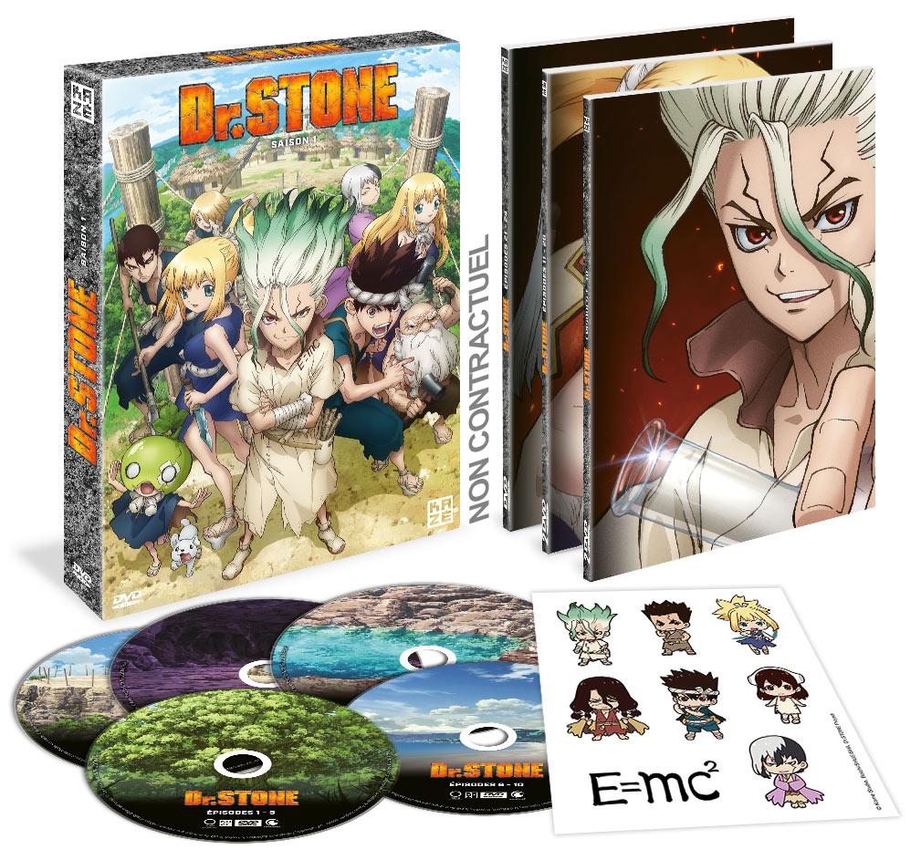 Dr.Stone Saison 1 DVD Coffret