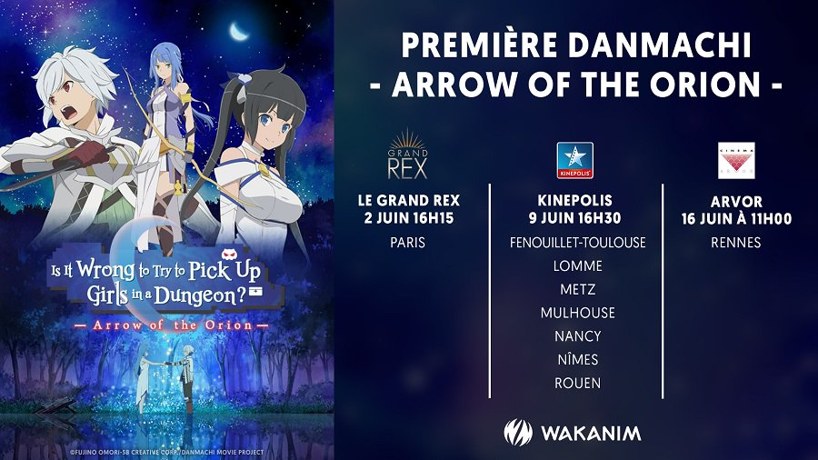 Danmachi Arrow of the orion AVP