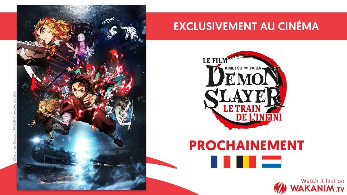 Demon Slayer Le Train de L'Infini Annonce Cinéma