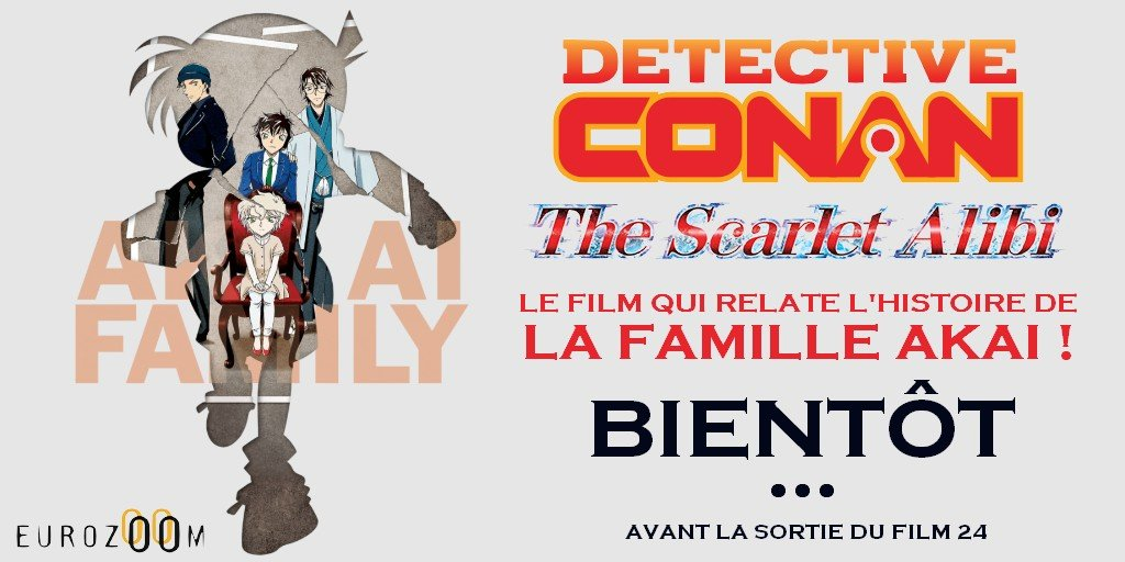 Détective Conan The Scarlet Alibi Annonce France