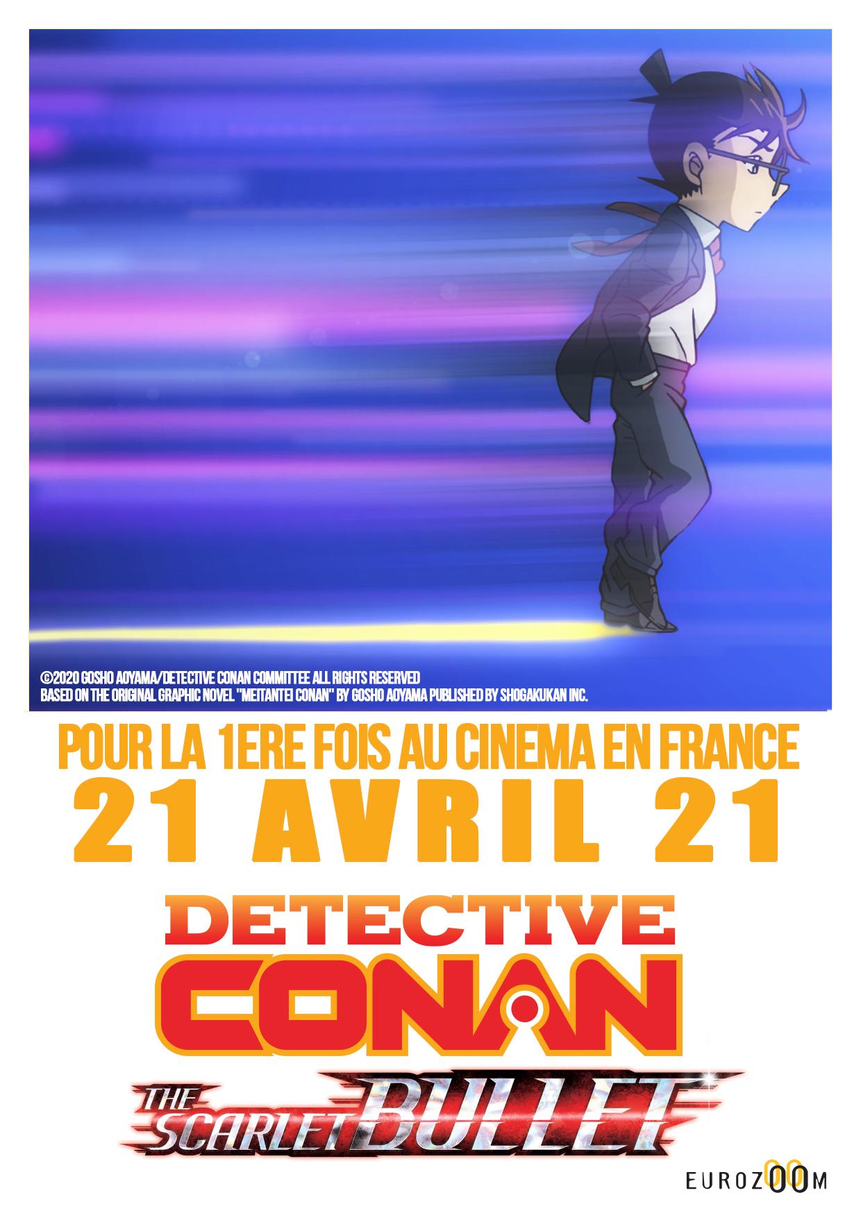 Détective Conan The Scarlet Bullet Visuel France