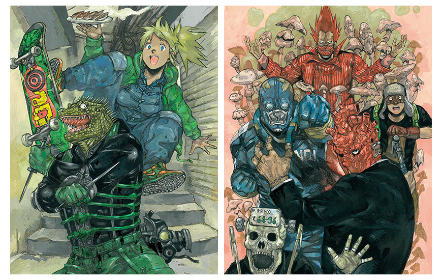 Dorohedoro Visuels Collector