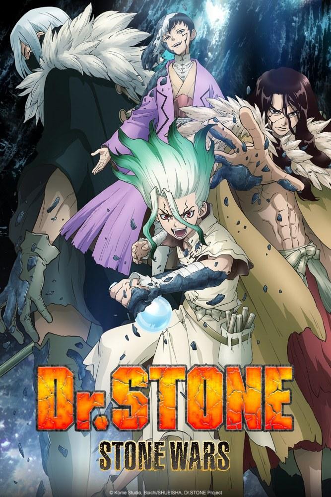 Dr.Stone Stone Wars Visuel