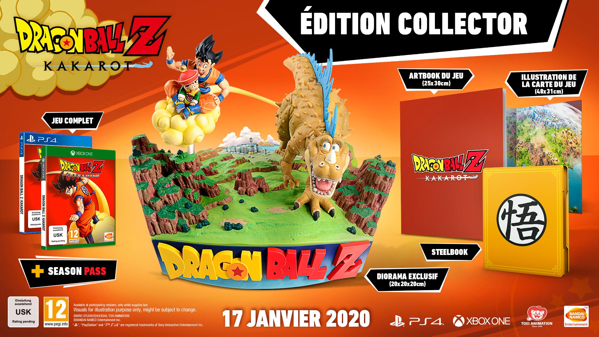 Dragon Ball Z Kakarot Collector