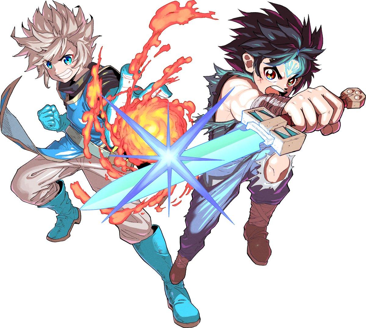 Dragon Quest Cross Blade Visuel