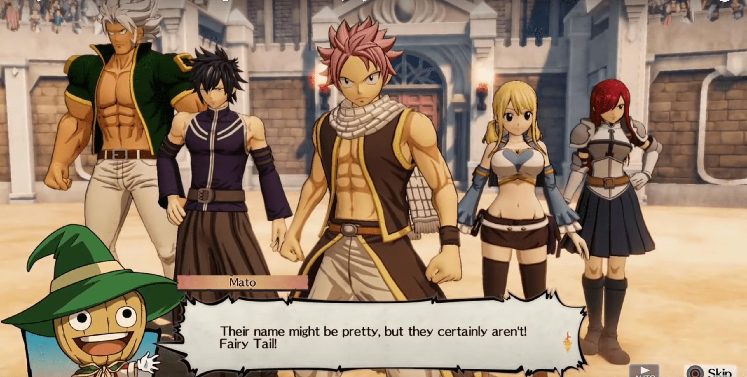 Fairy Tail Crocus Screen