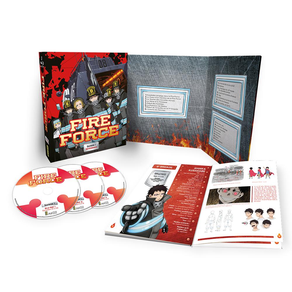 Fire Force Coffret DVD/BR