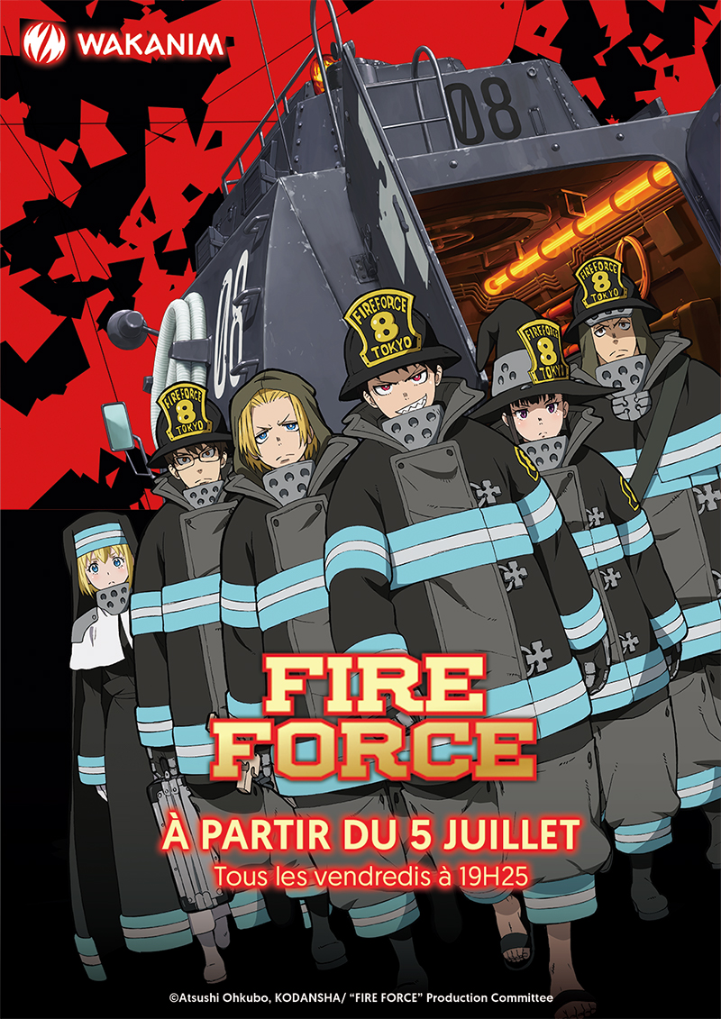 Fire Force affiche
