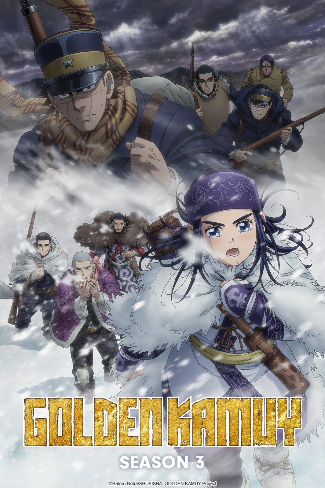 Golden Kamui S3 Crunchyroll