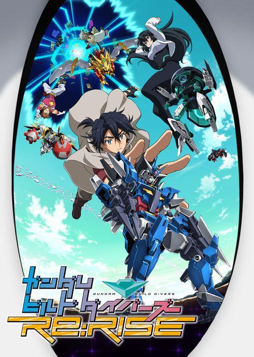 Gundam Build Divers Re:Rise Affiche