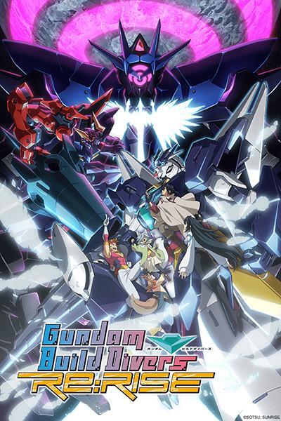 Gundam Build Divers Re:Rise S2 Affiche
