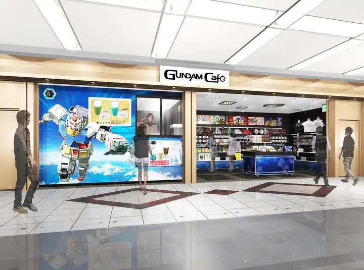 Gundam Café Haneda Airport