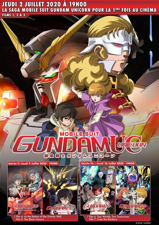 Gundam Unicorn Cinéma Annonce