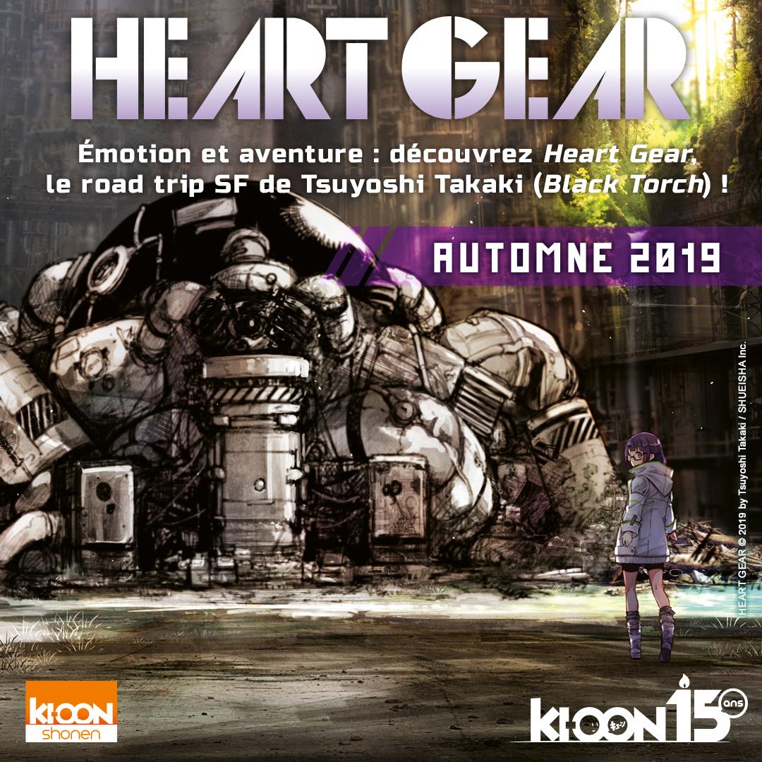 heart gear annonce