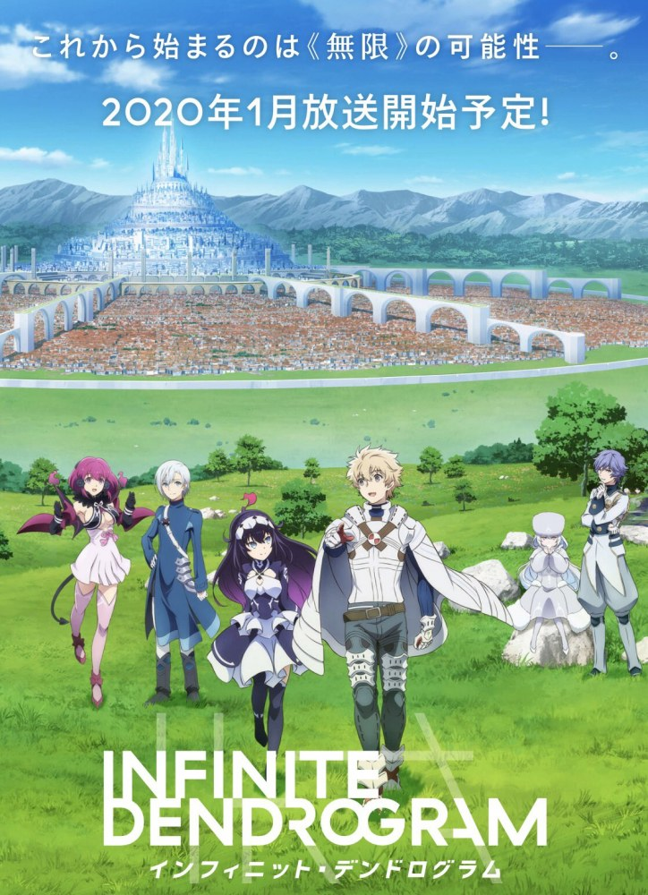 Infinite Dendrogram Affiche