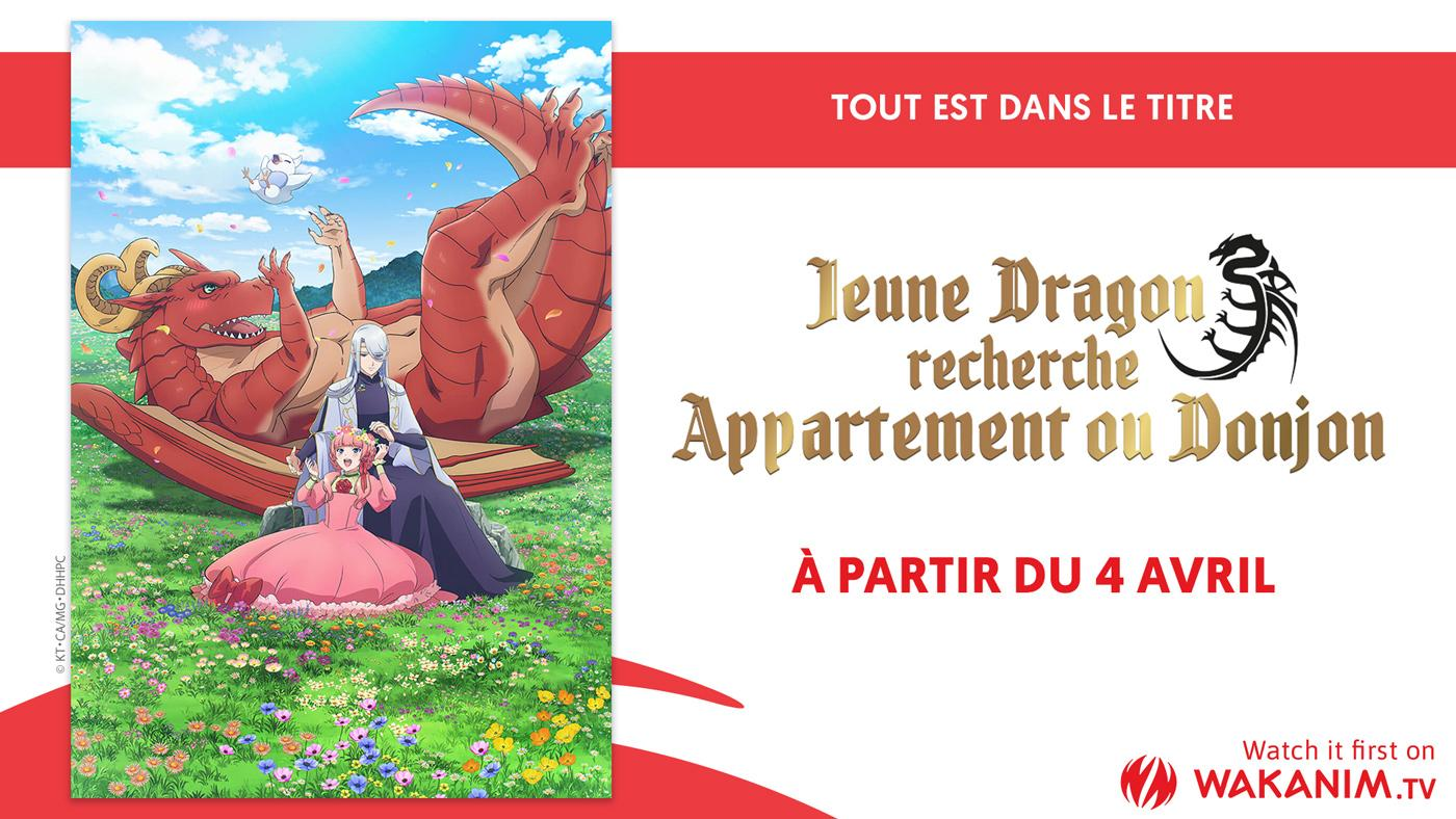 Jeune Dragon Recherche Appartement ou Donjon Wakanim