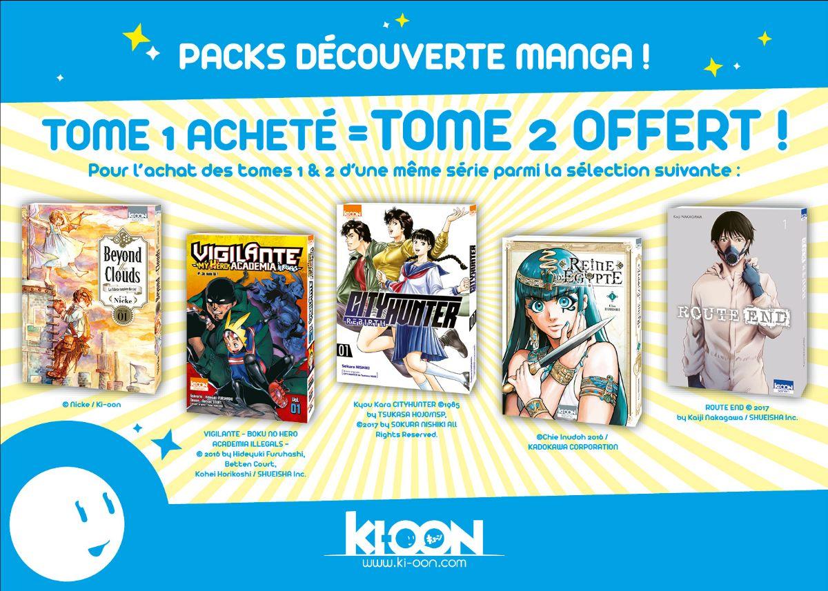 Ki-oon Packs Découverte Mangas