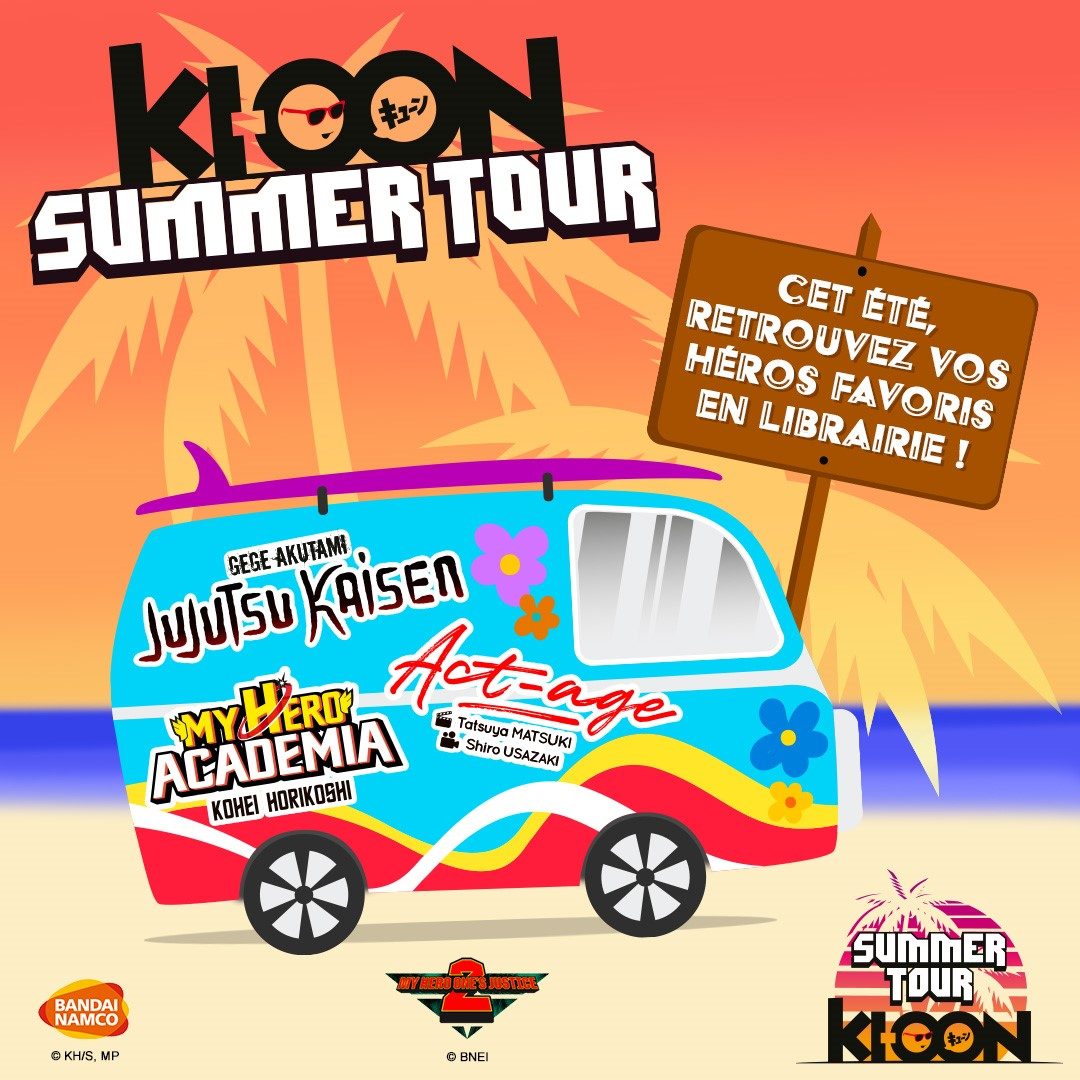 Ki-oon Summer Tour 2020
