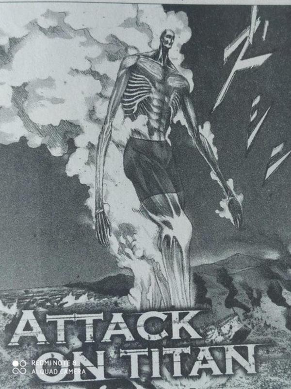 L'Attaque des Titans Caleçon