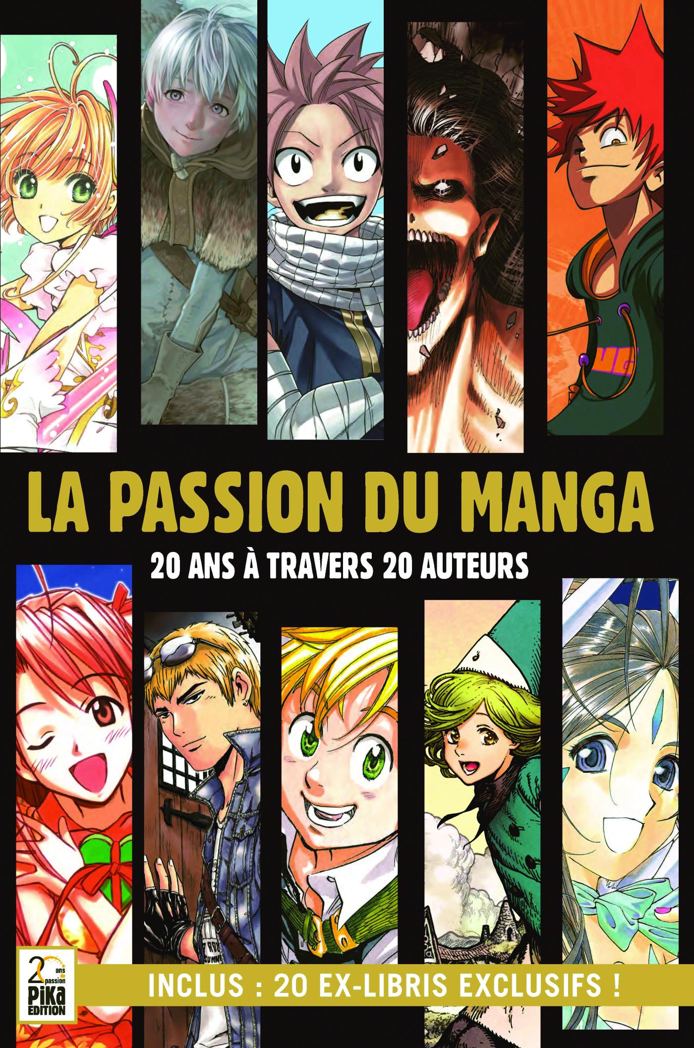 La Passion du Manga Couv