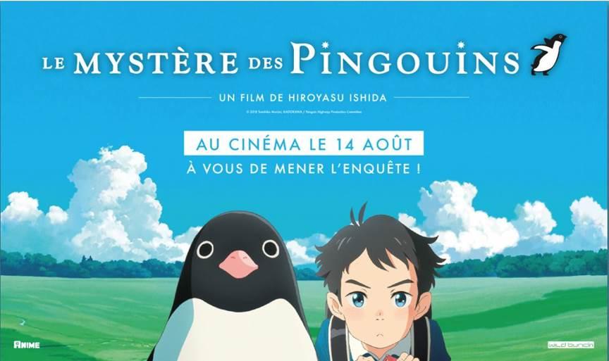 Le Mystère des Pingouins Affiche