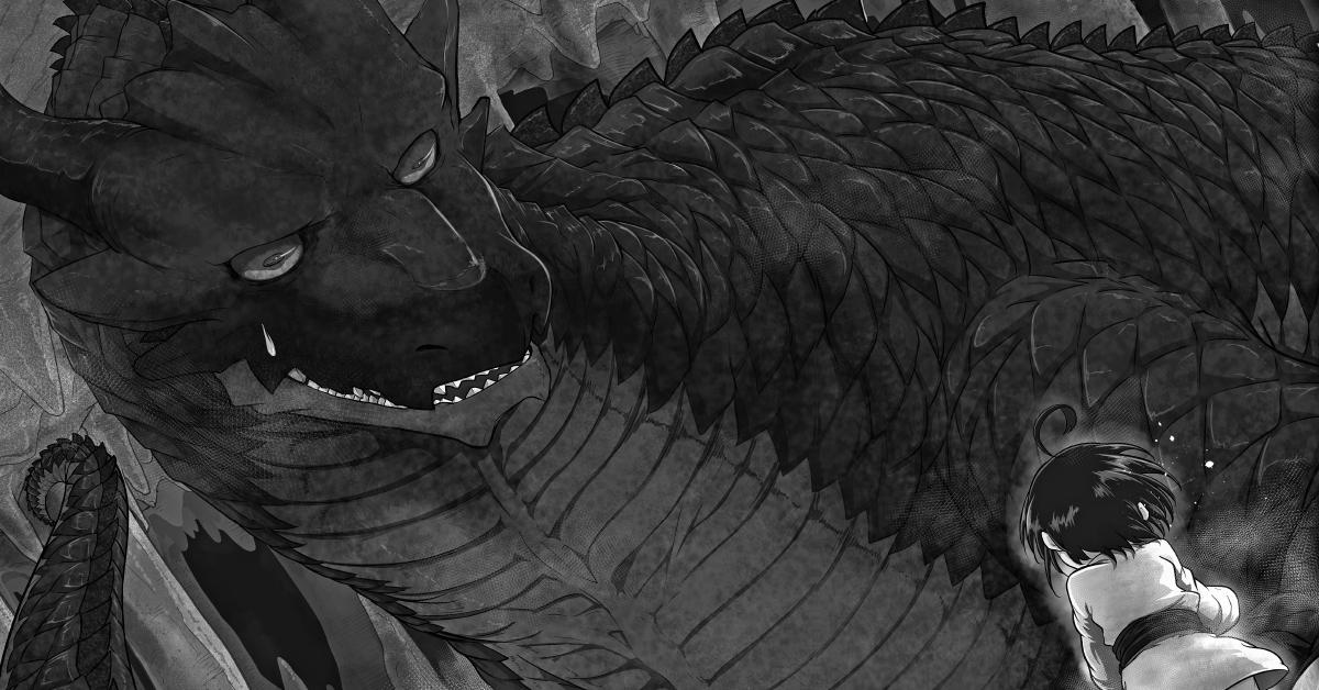 Le Puissant Dragon Vegan Planche