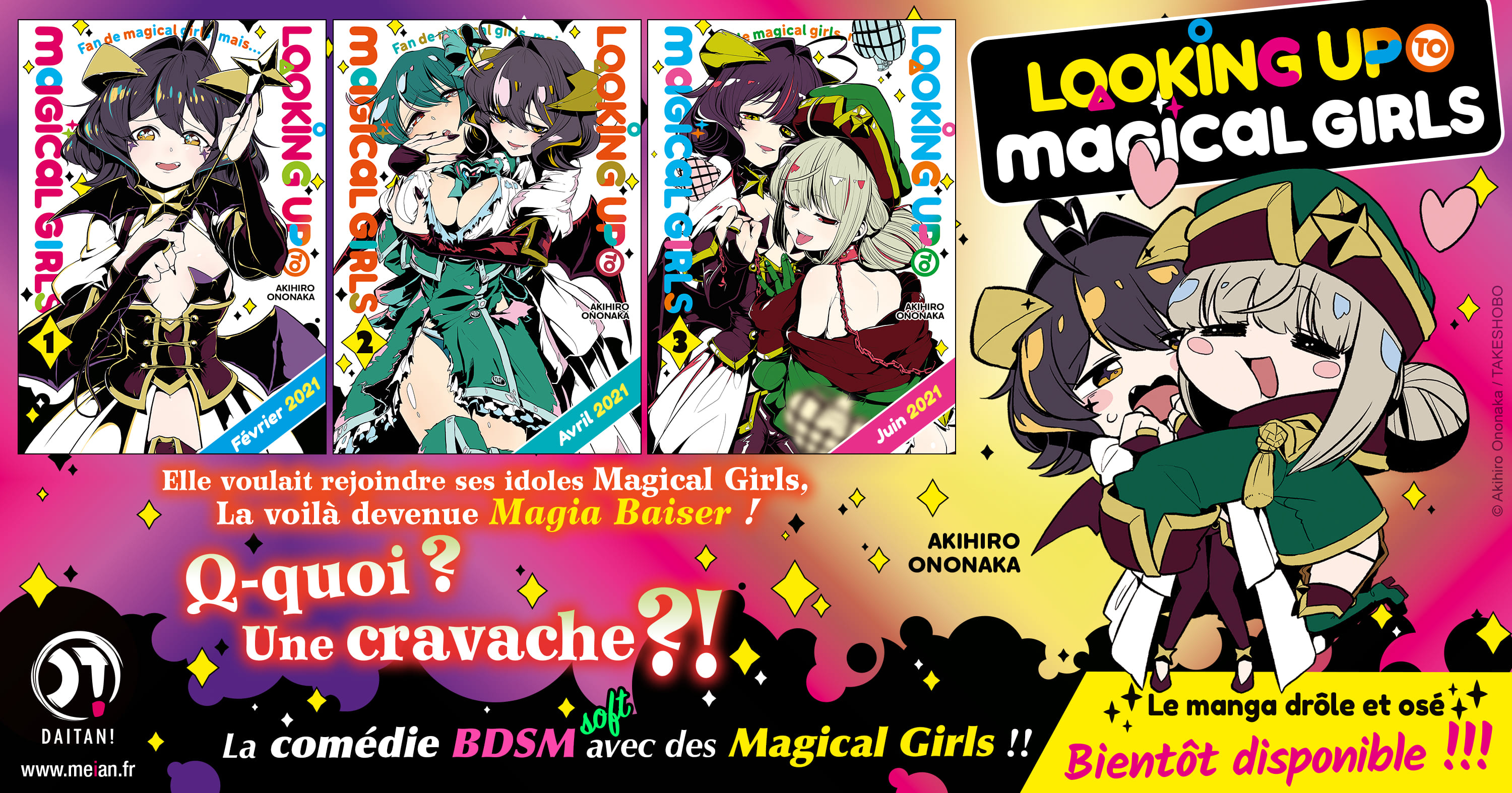 Looking Up To Magical Girls Annonce