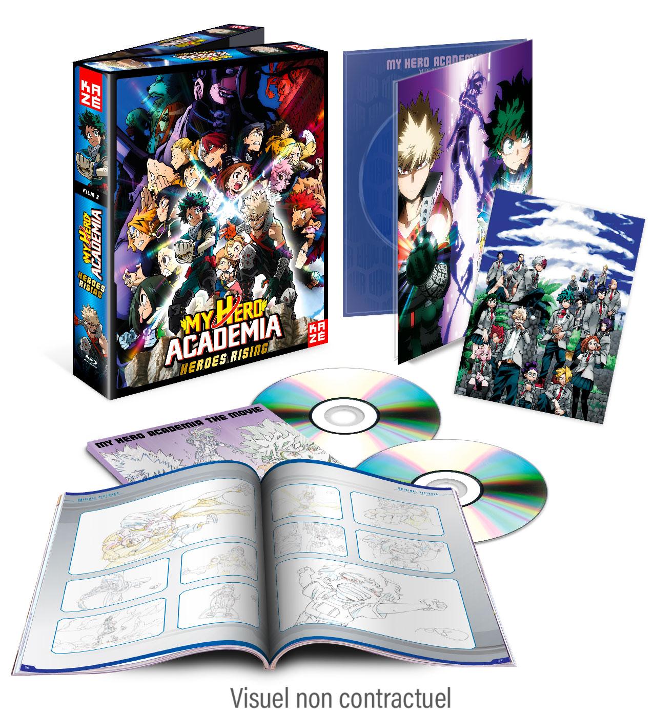 MHA Heroes Rising DVD BR 1