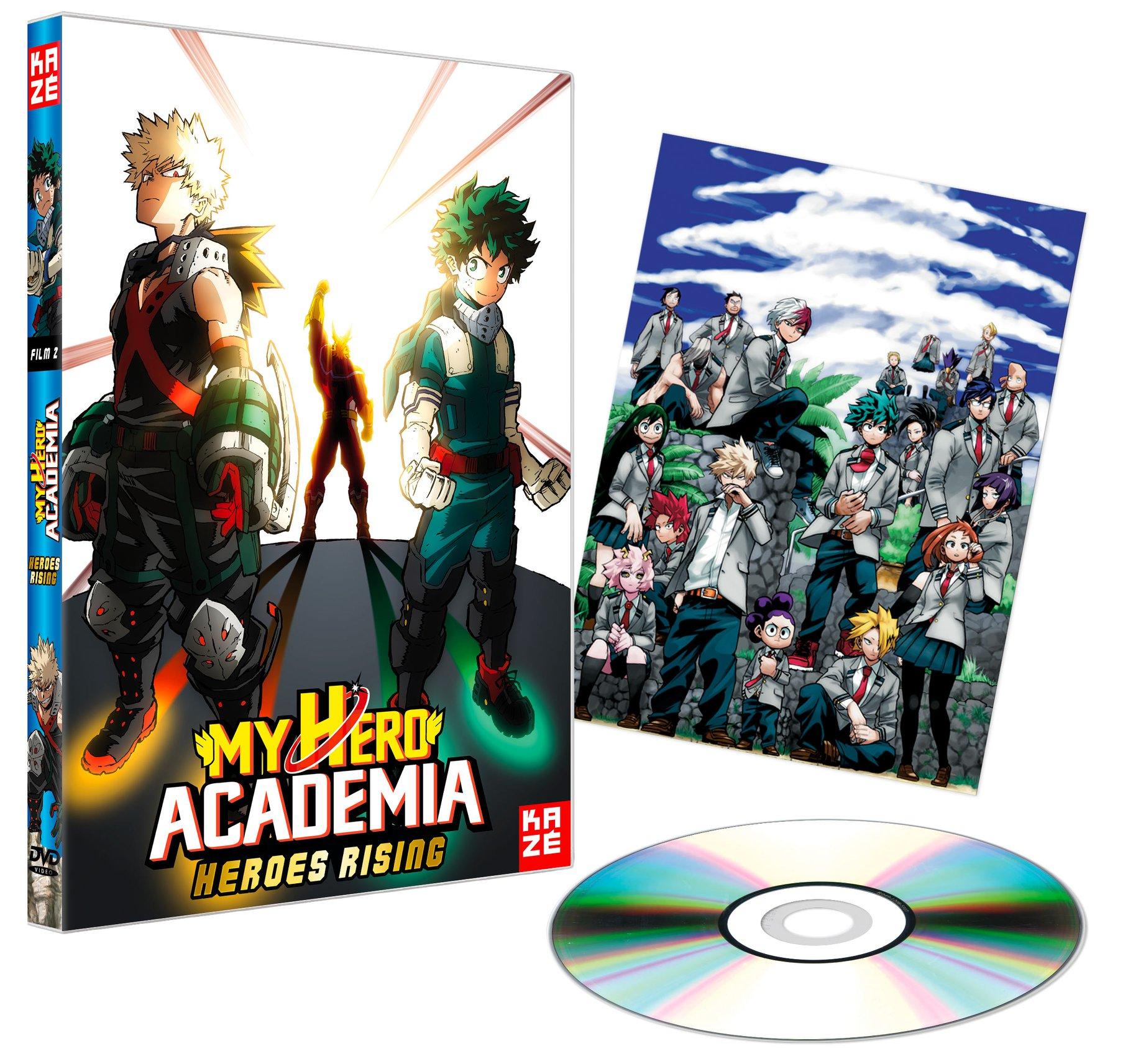 MHA Heroes Rising DVD BR 2