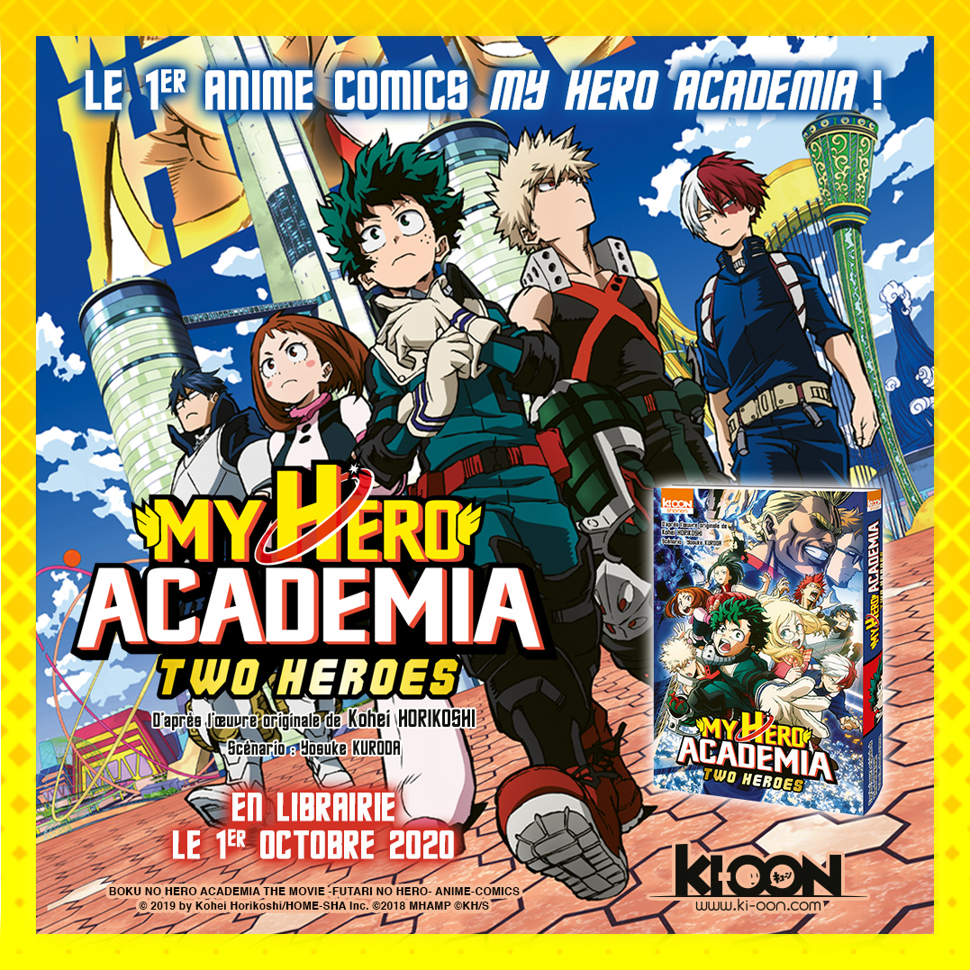 MHA Two Heroes Anime Comics Annonce