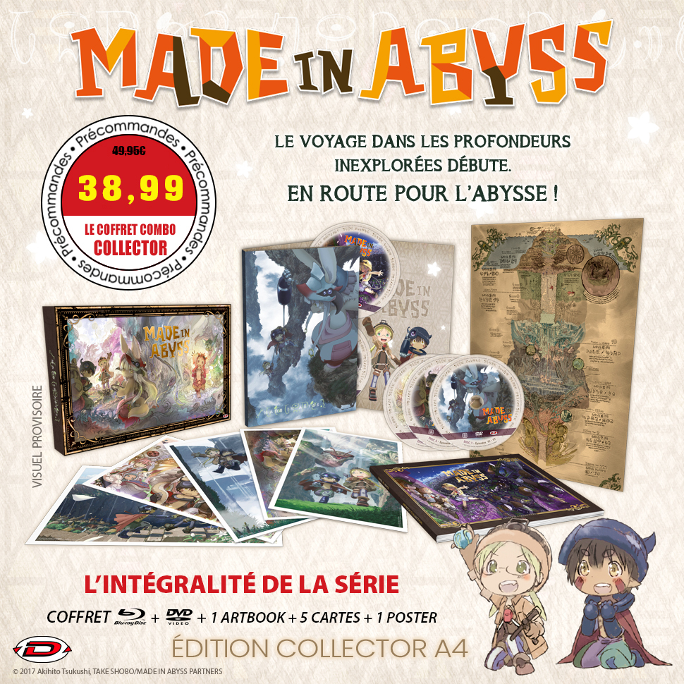 Made in Abyss Coffret