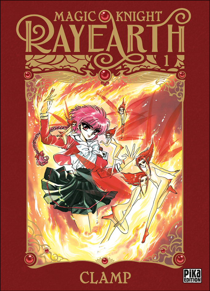 Magic Knight Rayearth Nouvelle Édition