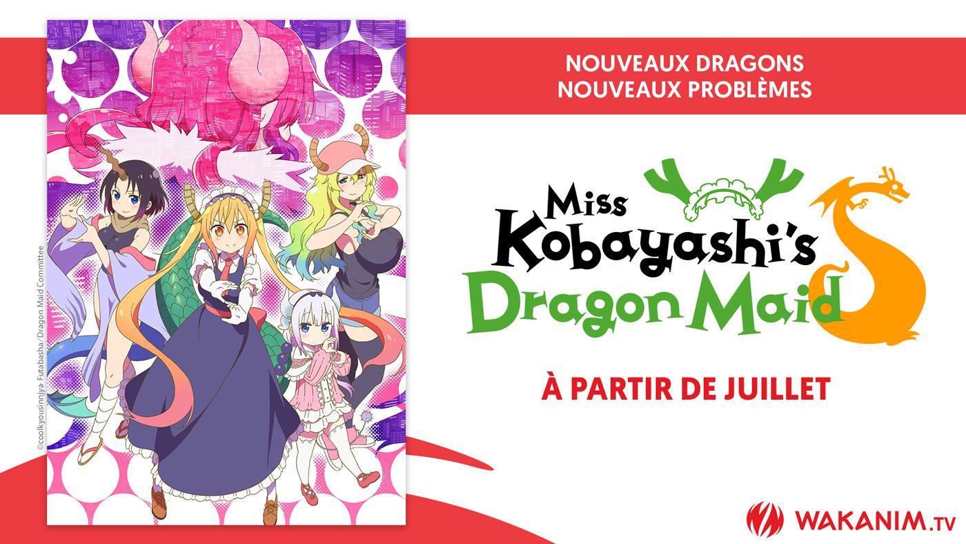 Miss Kobayashi's Dragon Maid S Wakanim