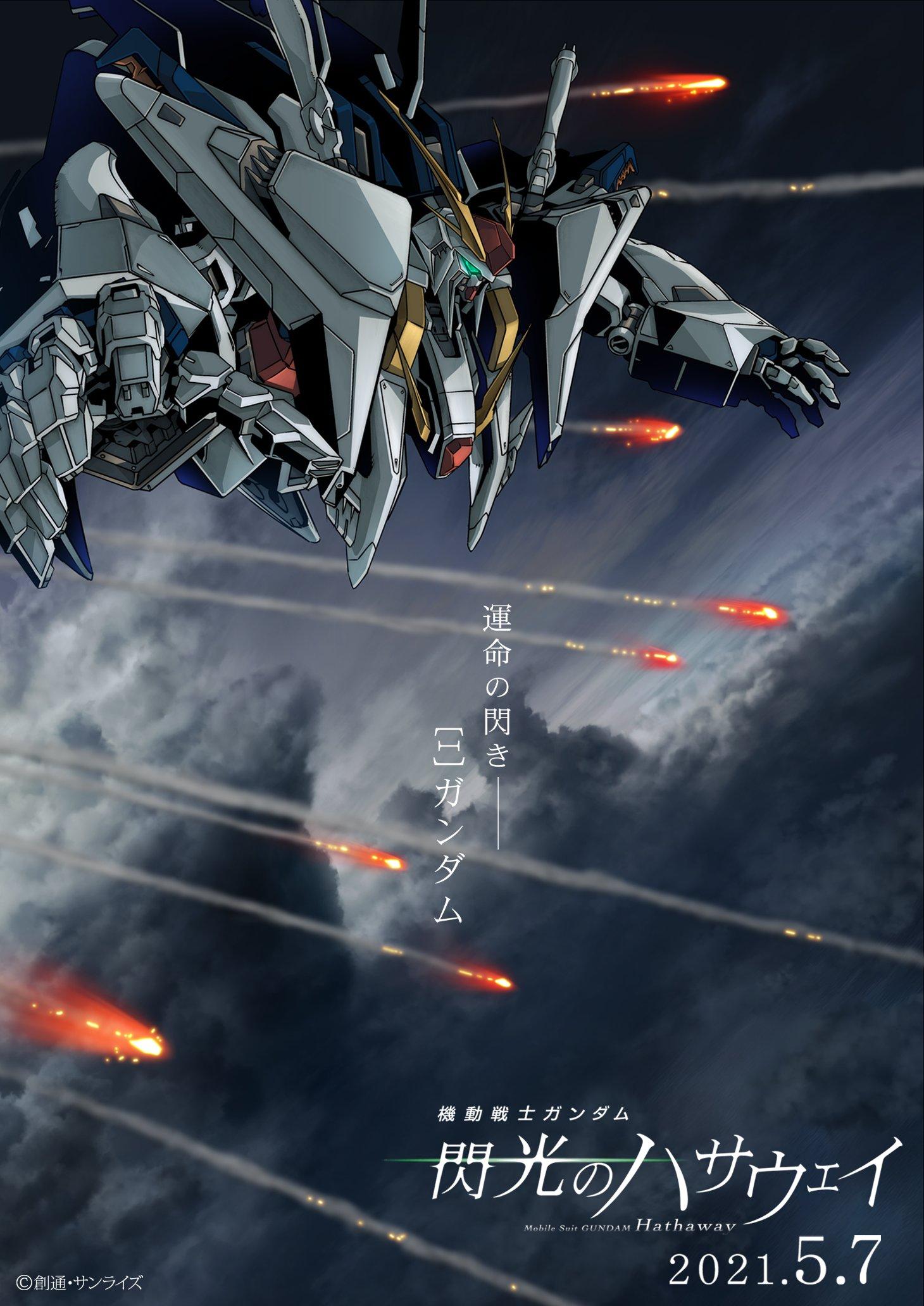 Mobile Suit Gundam Hathaway Affiche